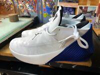 Nike Jordan Why Not Zer0.1 Low TB White Hyper Royal Size US 12 Men AQ9682 141