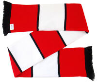 Monaco Supporters Striped Bar Scarf Made in the UK