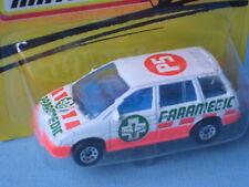 Matchbox Nissan Prairie Ambulance Paramedic Rescue Toy Model Car 70mm in BP