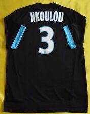 5+/5 Olympique Marseille (OM) #3 NKOULON ORIGINAL FOOTBALL SHIRT JERSEY ADIDAS