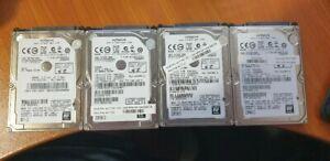 500Gb 7200Rpm 2.5 Drives x 4 System Pull lot 1