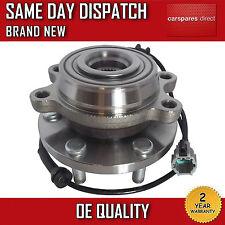 Avant roulement de roue hub avec capteur + abs fit for nissan navara D40 2.5 dci 05 > sur