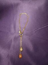 Joan Rivers Charm Bracelet Hanging Speckled Enamel Egg Charms Multi-Clasp