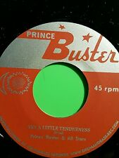 Prince buster Try a little tenderness  / Change is gonna come prince buster