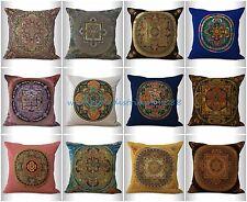 10pcs pillow cushion covers wholesale cushion covers traditional Tibetan mandala