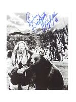 Dan Haggerty Vtg Signed Autographed 8x10 Photo Grizzly Adams TO BARBARA