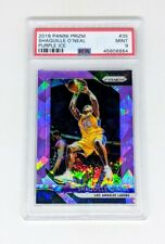 2018-19 Panini Prizm Purple Ice Prizm /149 Shaquille O'Neal PSA MINT 9 Lakers