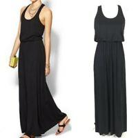 Black Flowy TART Racerback Maxi Dress  XS / S Soft Stretchy Nordstrom Small
