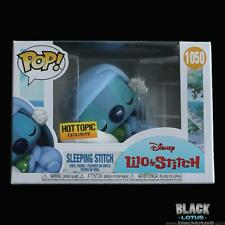 Funko Pop Sleeping Stitch Lilo and Disney Hot Topic 1050 W/pop Protec