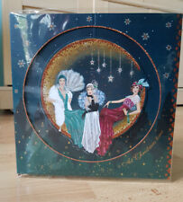 Luxury Art Deco Clintons 3D Glitter Ladies Large Christmas Card