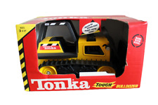 1997 Tonka Steel Classic Bulldozer Truck Toy Made With Metal Made in USA