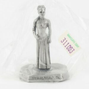 Princess Leia, Slave, New in Sleeve   1990s Star Wars Figure by Rawcliffe Pewt