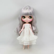"""12"""" Neo Blythe Doll Curly Hair Nude Doll from Factory Jsw65008+Gift"""
