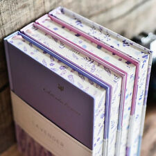 """""""Lavender Garden"""" 1pc Journal Diary Study Notebook Lined Papers Hard Cover Memo"""