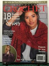 Interweave Crochet Stylish Projects Crafted Coral Spring 2019 FREE SHIPPING JB