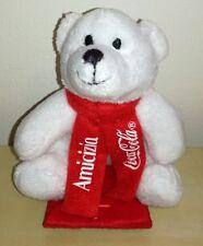 Peluche Orso Bianco Coca Cola 10 cm amicizia pupazzo originale white bear plush