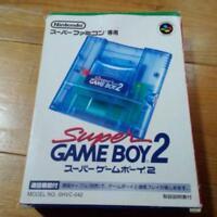 Super Game Boy 2 Gameboy Gameboy2 Nintendo SFC SNES Famicom Japan Import Box