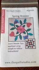 ~Spring Breezes~ Needle Turn Applique' Pattern #IQS1001