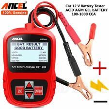 12V Car Battery Tester For Flooded, AGM, GEL BST200 Automotive Battery Analyzer