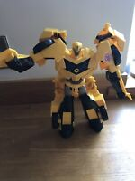 BUMBLEBEE TRANSFORMERS ROBOTS IN DISGUISE 3 STEP CHANGERS ACTION FIGURE