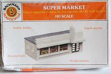 SUPER MARKET BACHMANN HO Scale Model Kit Plastic Snap Fit Assembly NIB