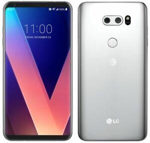 LG V30 - 64GB - Silver (AT&T) Smartphone + Bonus