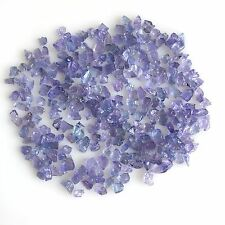 120 CT SCOOP NATURAL TANZANITE BLUE GEMS LOOSE RAW ROUGH LOT MINERAL WHOLESALE