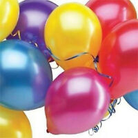 Latex Balloons Mix Colour Pack Of 30 Birthday Wedding Decoration