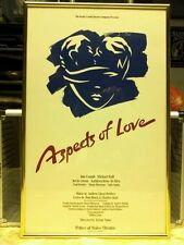 """""""Aspects of Love"""" Theatre Poster"""