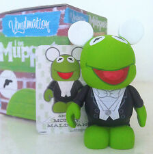 """DISNEY VINYLMATION 3"""" MUPPETS SERIES 1 KERMIT THE FROG 55TH ANNIVERSARY CHASER"""