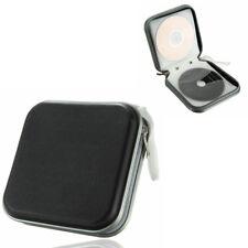 Black CD DVD 40 Disc Disk Case Sleeve Wallet Holder Storage Portable Plastic Bag