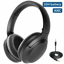 Avantree Aria Active Noise Cancelling Wireless Wired Bluetooth Anc Headphones