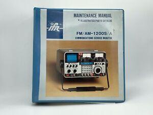 FM/AM - 1200S / A Maintenance Manual