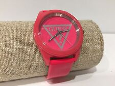 Reloj Watch Montre GUESS - Quartz - Plastic Case - Pink - Leather