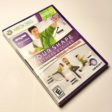 Your Shape: Fitness Evolved 2012 (Microsoft Xbox 360, 2011) Kinect - Complete