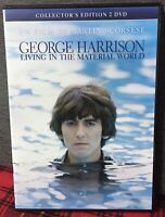 George Harrison Living In the Material World 2 DVD Martin Scorsese N