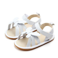 White Baby Girl Butterfly Sandals Baby Shoes Summer Sandals Beach Sandals