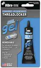 "Vibra-Tite Medium Strength Blue ThreadLocker Anaerobic Gel 6mL tube 1/4"" - 3/4"""