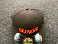 NEW ERA CAP CLEVELAND BROWNS  59 FIFTY FITTED HAT