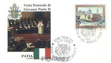 Italia 1984 Jan Paweł papież John Paul Pope Papa Giovani Paolo Pavia (84/19)