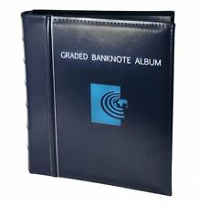 NEW Banknote World Graded Banknote Album, Currency Collecting  a.5 Album Pages