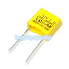 275V 330nF X2 in Polipropilene Condensatore a film di sicurezza 3x 0.33uF passo 15mm