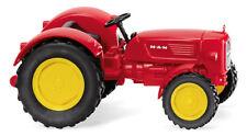 Wiking H0 088403 - Man 4R3 - Rouge Trafic Produit Neuf