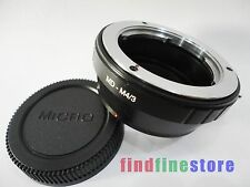 Adapter for Minolta MD MC Lens to Micro 4/3 M4/3 E-P1 E-P3 E-PL2 E-PM1 DMC + CAP