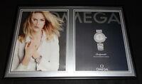 Nicole Kidman 2015 Omega Watches 12x18 Framed ORIGINAL Advertising Display