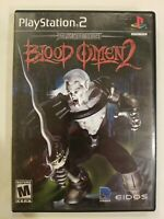 Blood Omen 2 (Sony PlayStation 2, 2002) PS2 Complete CIB TESTED FREE S/H