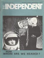 AUG/SEPT 1987 INDEPENDENT movie magazine WHERE HOW ARE WE HEADED
