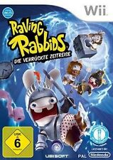 Nintendo Wii Rayman Raving Rabbids folle viaggio nel tempo * tedesco come nuovo
