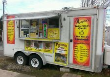 Food Concession Trailer w Full Kitchen Currently Operating & Licensed in PA