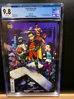 TEEN TITANS 20 CGC 9.8 VARIANT RARE 1ST FULL APPEARANCE OF CRUSH SOLD OUT MOVIE